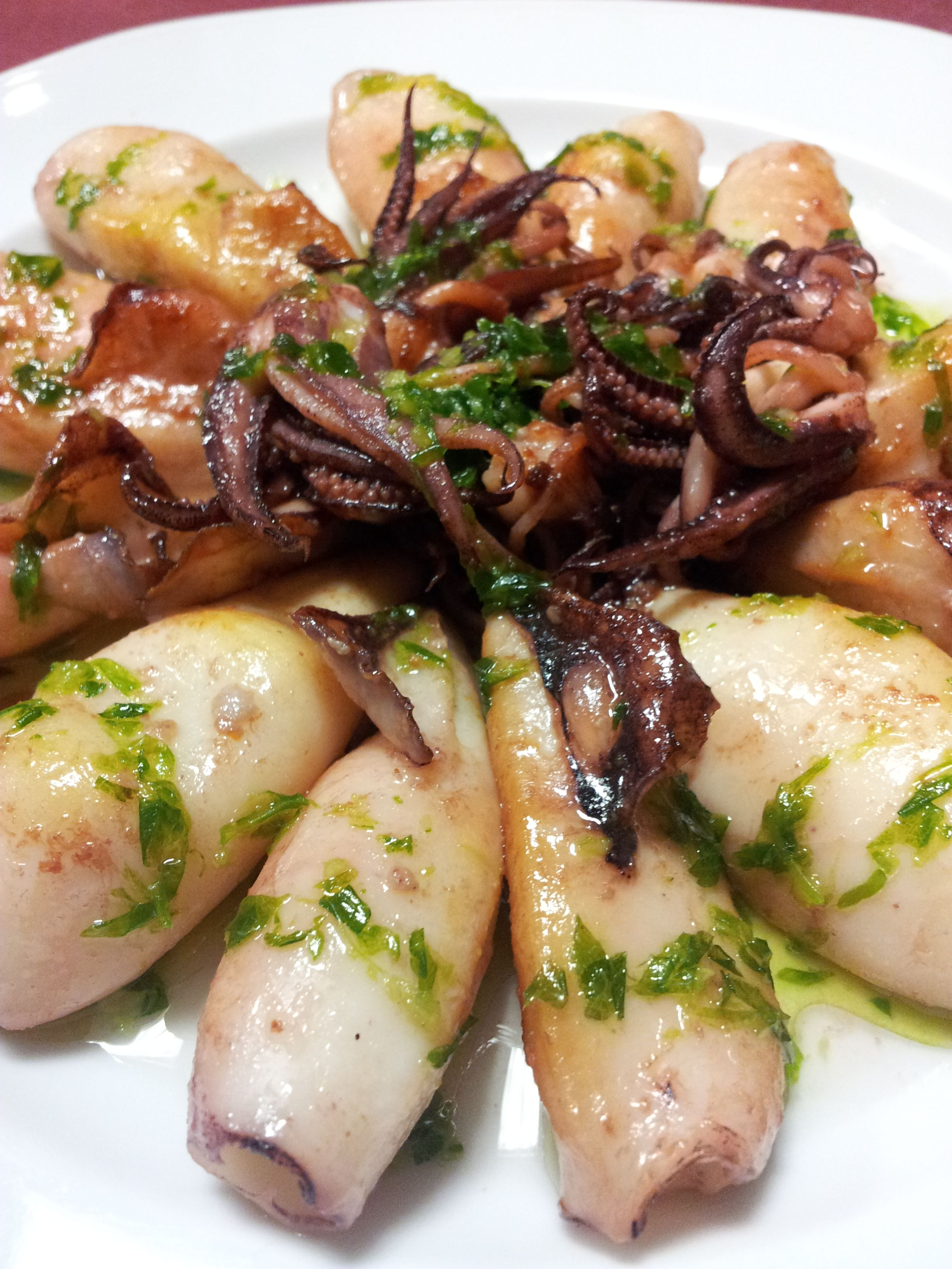 Superb Calamares A La Plancha Con Salsa Mery   For More Recipes Like This Visit  Our Website!