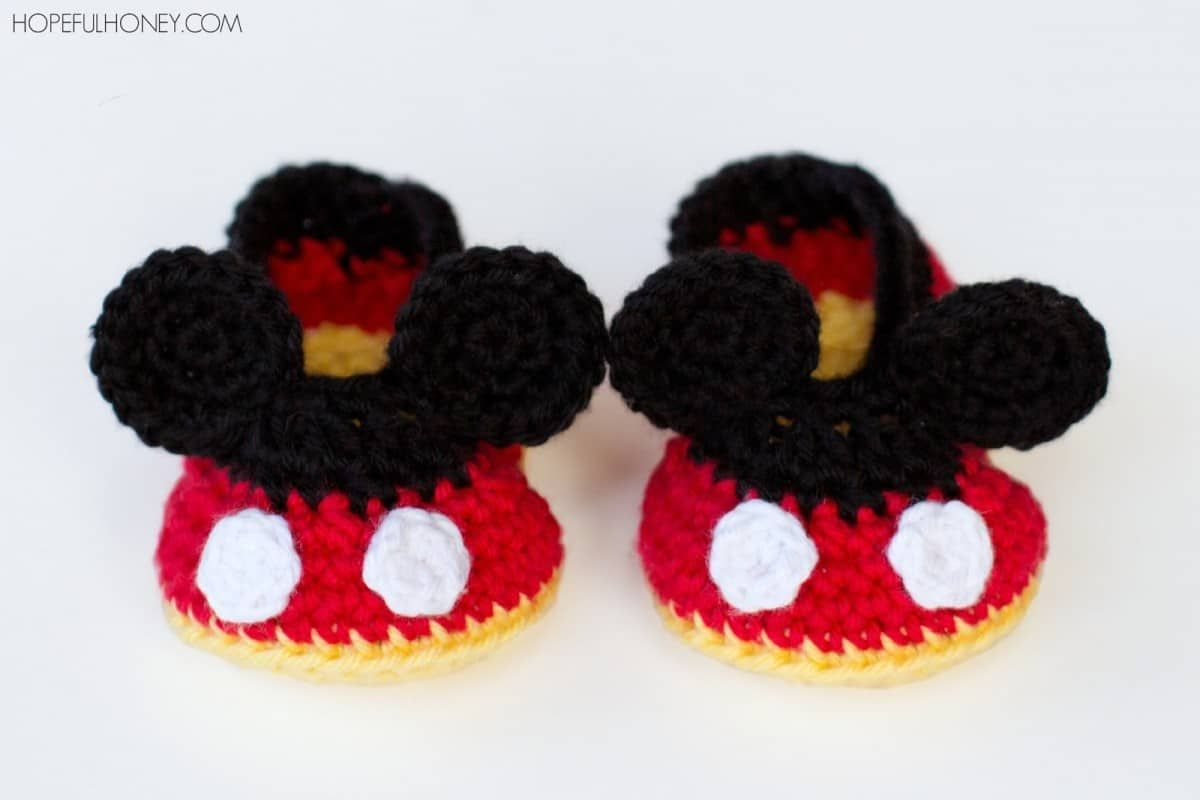 Mickey And Minnie Mouse Crochet Patterns | Free crochet, Mickey ...