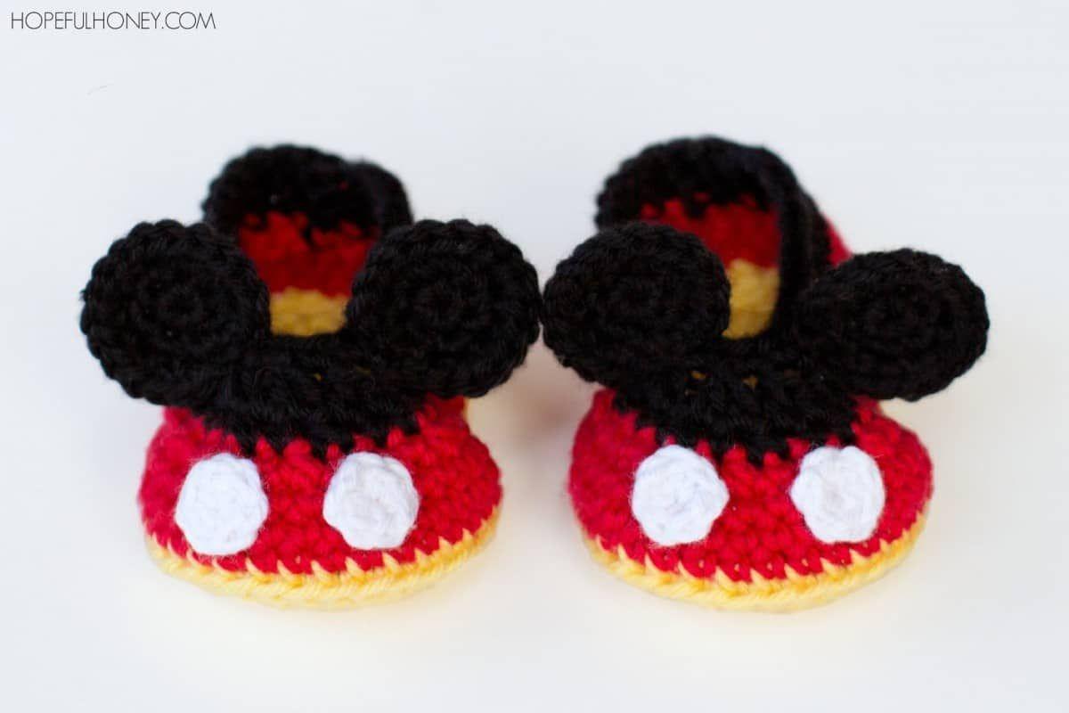 Mickey Mouse Crochet Pattern Free Amazing Decorating