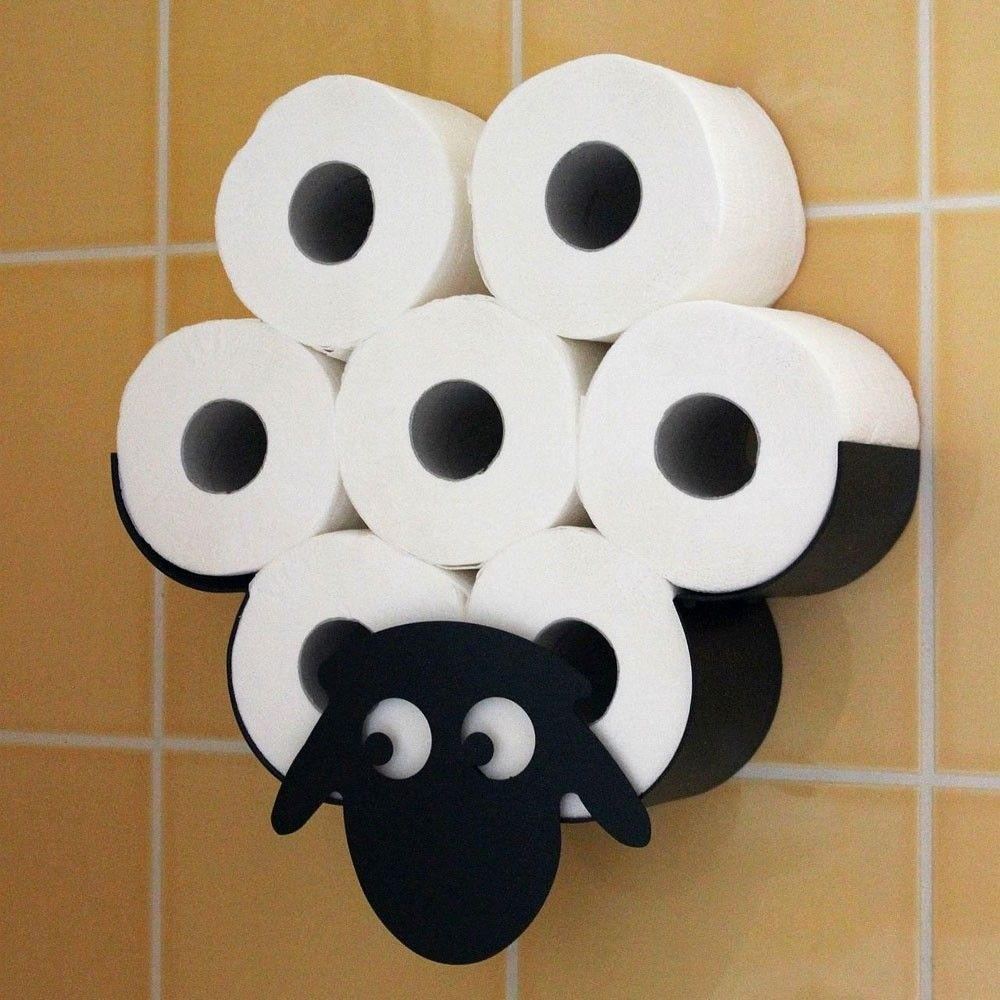 Shearan The Sheep Toilet Roll Holder In 2020 Toilet Paper Roll