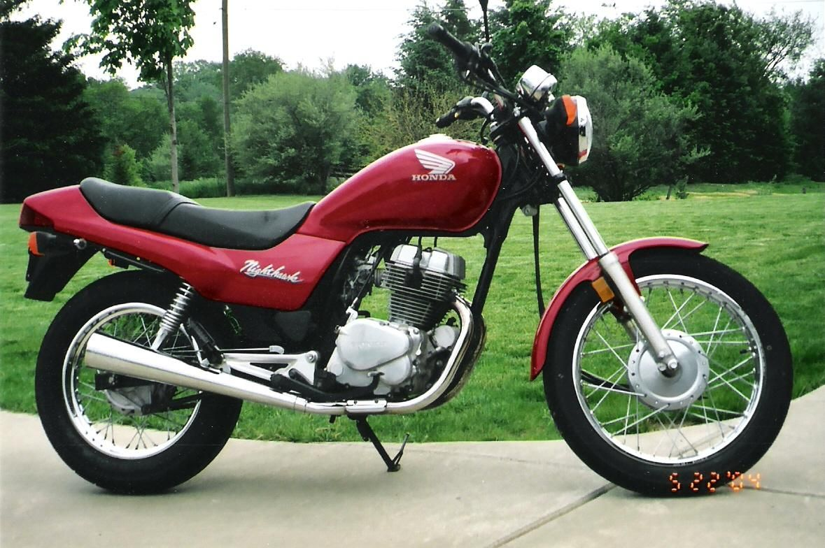 Honda CB250 Nighthawk I Learned How To Ride A Motorcycle On This