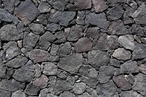 Pequena Vivienda Estilo Tradicional Exteriores Rusticos E - Muro-piedra