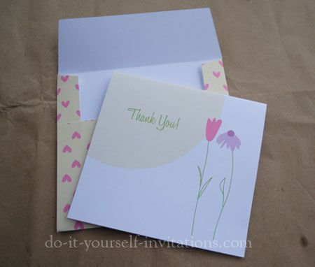 Free Printable // Card // Thank You Cards