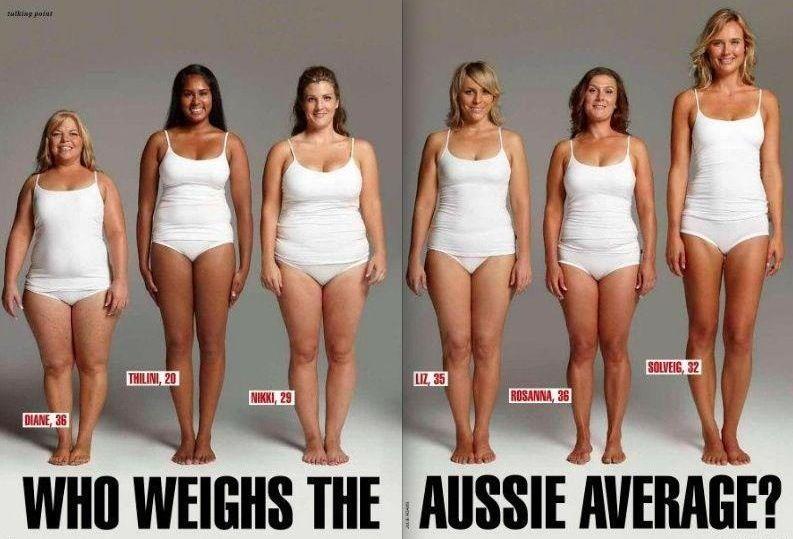 6 verschillende vrouwen die exact hetzelfde wegen