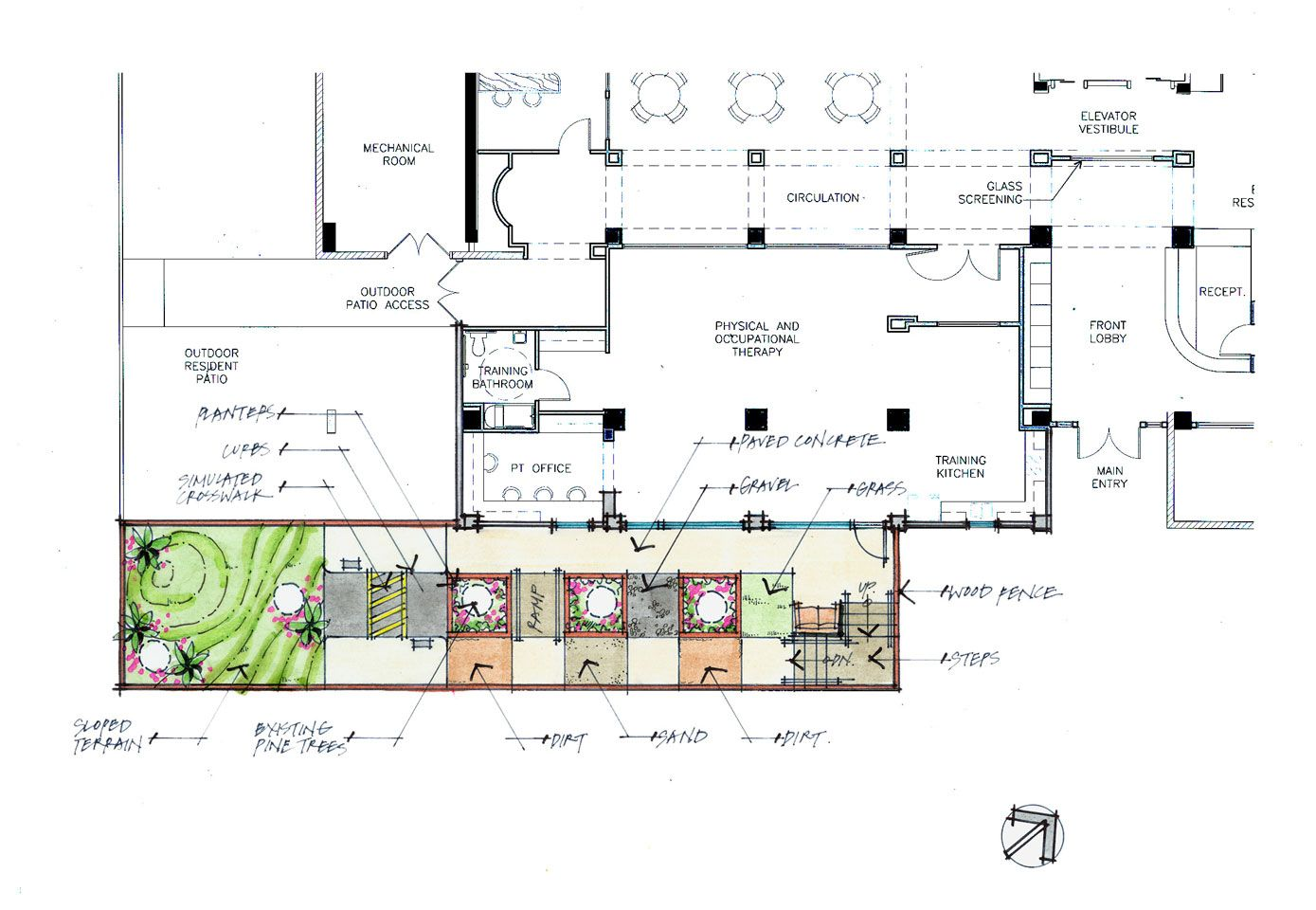 occupational therapy gym floor plans Google Search