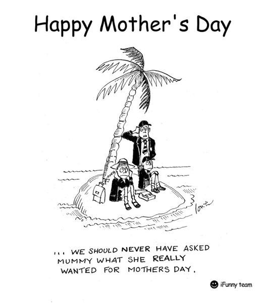 Happy Mothers Day from iFunny team :) / iFunny :)