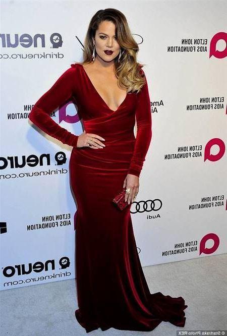 Awesome Khloe Kardashian Red Carpet Dresses 2018 2019