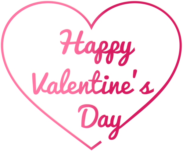 Transparent Happy Valentine's Day PNG Image in 2020 ...