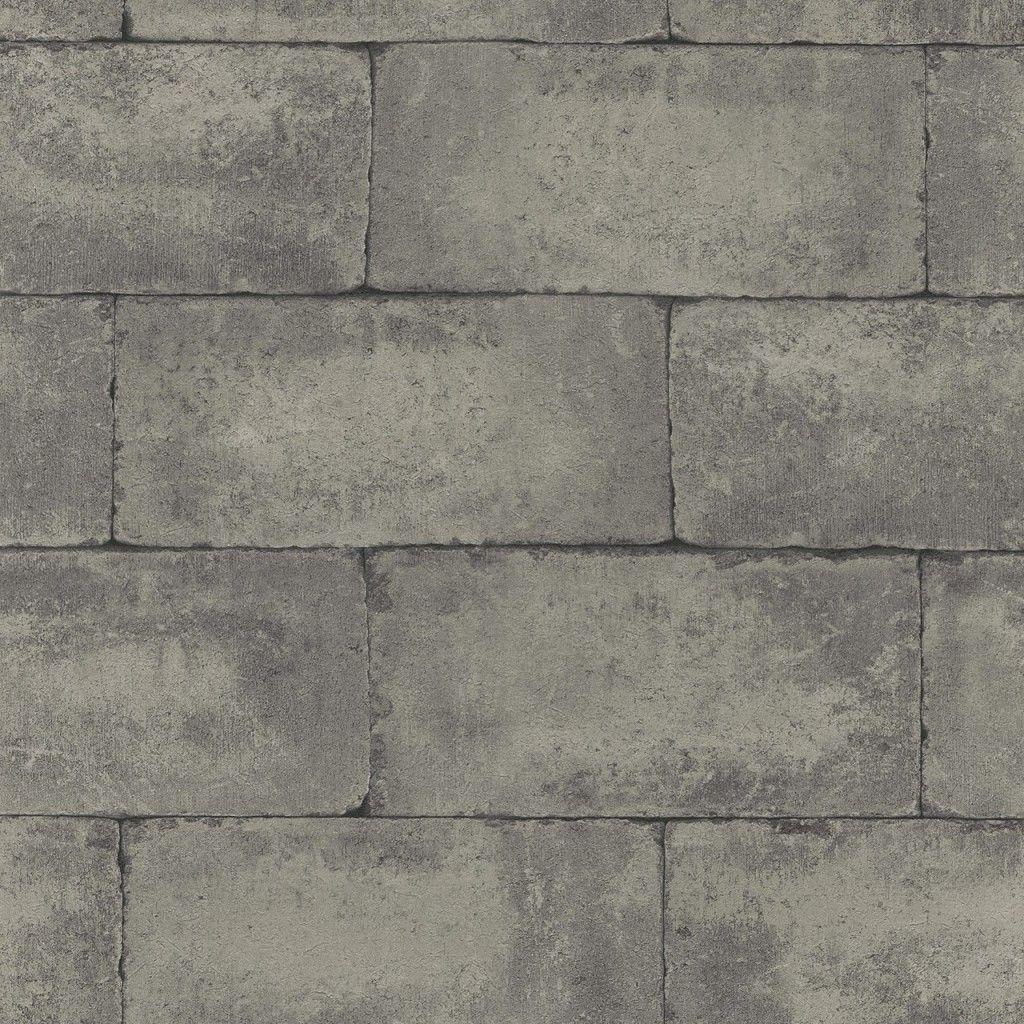 Concrete Block Effect Grey Brick Brick Texture Brick Block