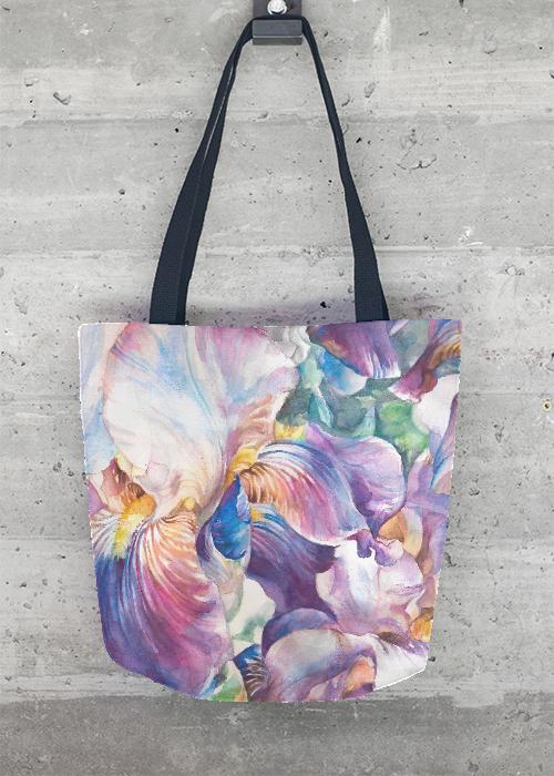 Statement Bag - Watercolor Magnolias by VIDA VIDA M08EMHfnT9