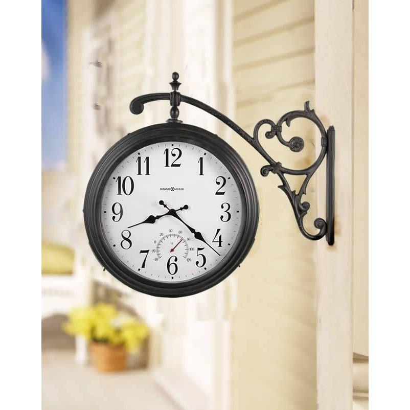Weather Maritime Indoor Outdoor Clocks Thermometer 625358 Luis