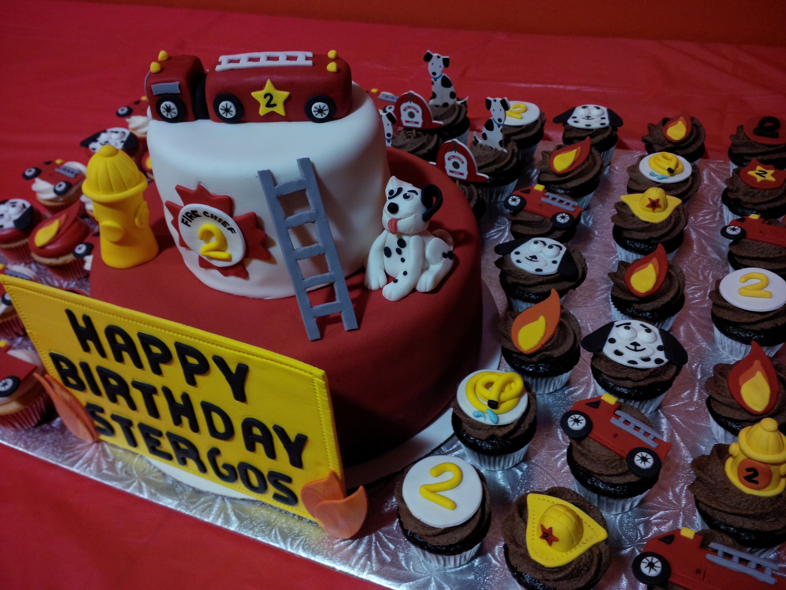 Fire Truck Cake Images