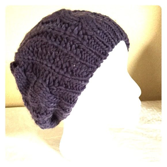 Greyish Lavender slouch beanie Cute slouch beanie in great condition.  Color is lighter in person. Worn once.  NO TRADES Accessories Hats