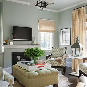 Ash this is  softer version of blue brown yellow green living room also decor rh pinterest