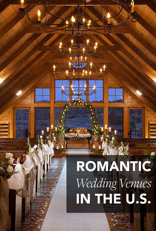 50 Wedding Venues In The U S