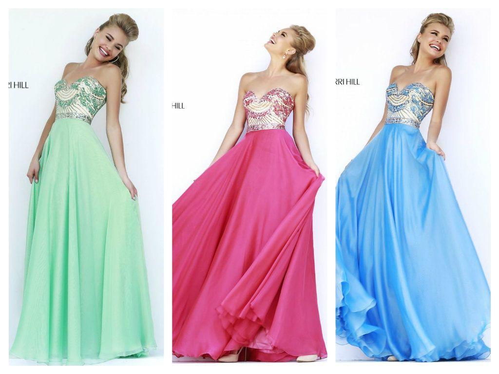 Vestidos Prom Graduacion Colors Sherri Hill 1942 Dress ...
