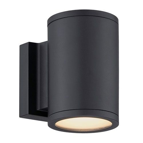 modern forms tube up and down outdoor wall light