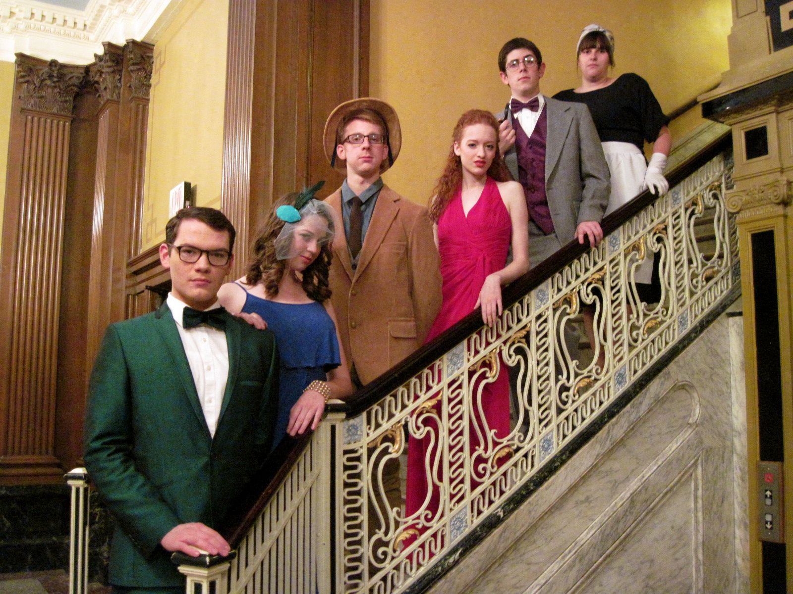 halloween group costume: clue characters i've always wanted to do