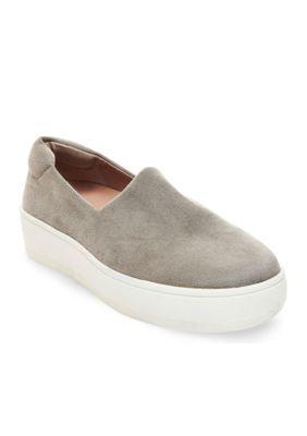 67bbab15375 Steven Women s Hilda Slip On Platform Sneaker - Gray - 6M