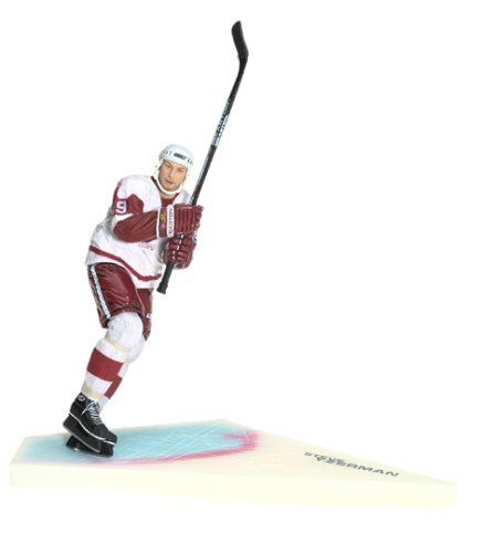 Steve Yzerman Series 1 Action Figure By Mcfarlane Toys 43 00 Amazon Com Cruising Straight Into Action Figures Steve Yzerman Detroit Red Wings