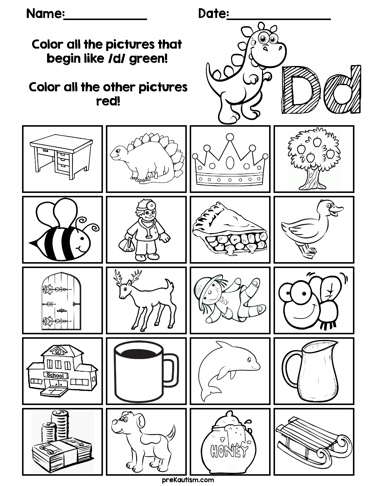 Find Amp Color Consonants Worksheets With Images