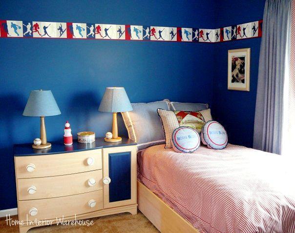 Kids Bedroom For The Sports Enthusiast | Home Interior Warehouse  Http://homeinteriorwarehouse.