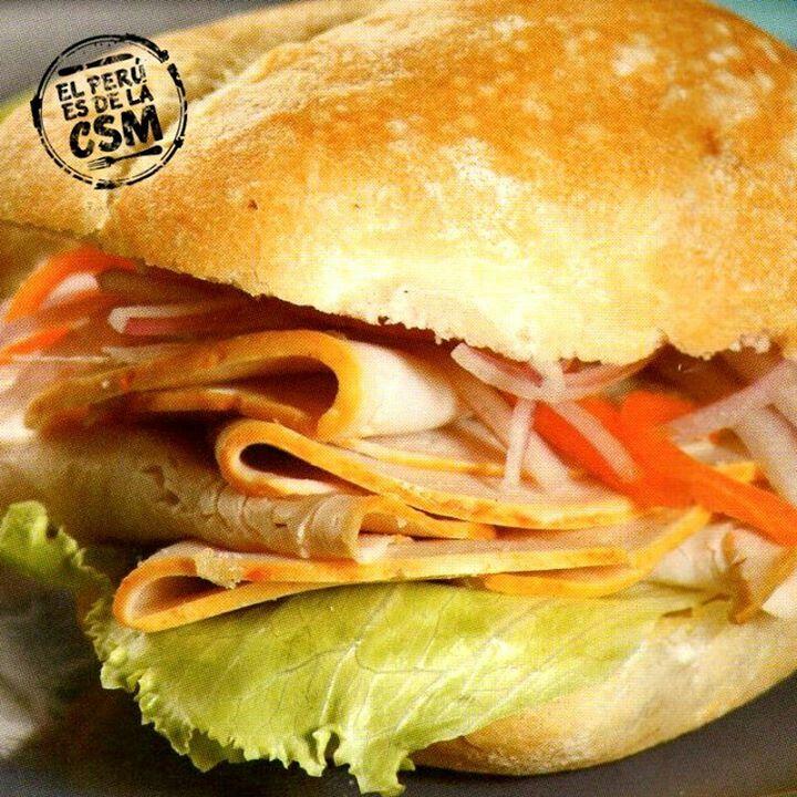 Pan Con Jamon Del Pais Peruvian Recipes Soup And Sandwich Food Fanatic
