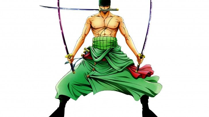 Roronoa Zoro Katana 3 Sword Style Wallpaper Hd 1067