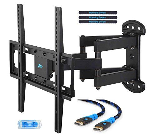 Mounting Dream Md2379 Tv Wall Mount Bracket For Most Of 2655 Inch Led Lcd Oled And Plasma Flat Screen Tv With Tv Wall Mount Bracket Wall Mounted Tv Tv Bracket