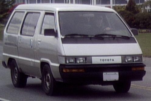 1980s Toyota Minivan
