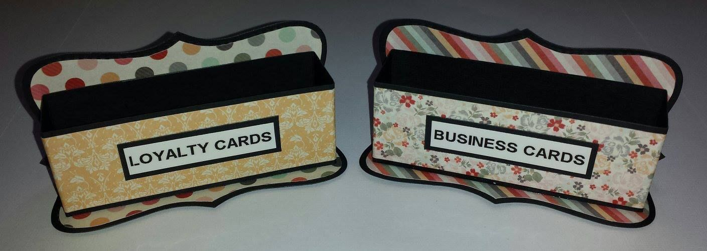 Gorgeous Business Card Holders Kaisercraft Sweet Pea Collection And Stampin Up Top Note