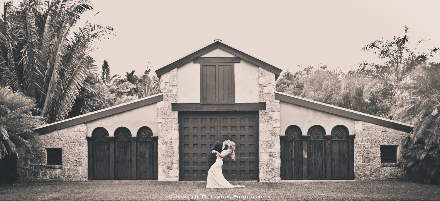 Beach wedding spots  Wedding at The Cooper Estate in Homestead Red Lands Photography