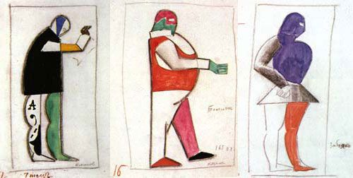 "Malevich for ""Victory over the Sun"""