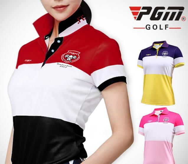 ee2c4cad Top quality POLO Shirt Breathable Short Sleeve T-Shirt Quick-Dry Lady Golf  Shirt