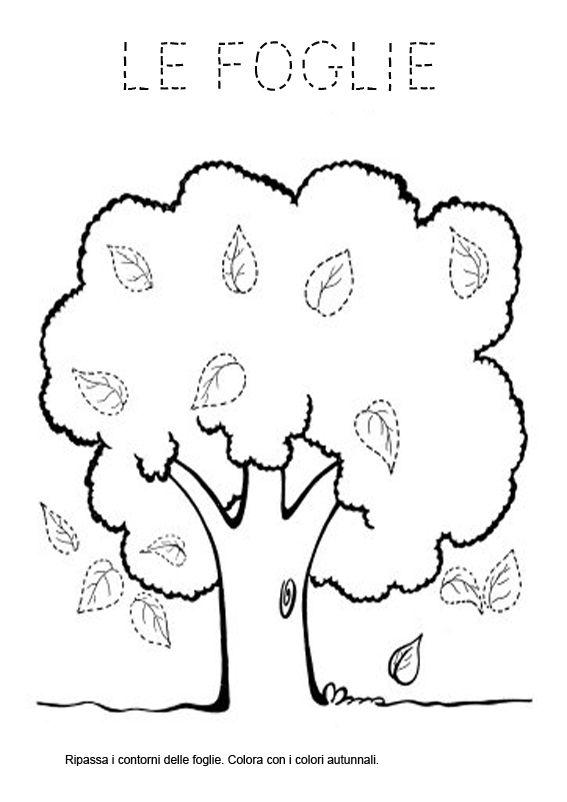 pregrafismo maestra gemma le idee della scuola autunno