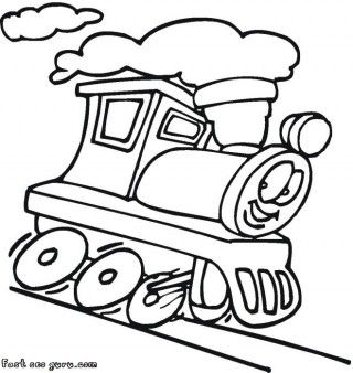Printable Cartoon Dam Train Colorign Pages Printable Coloring Pages For Kids Train Coloring Pages T Is For Train Cars Coloring Pages