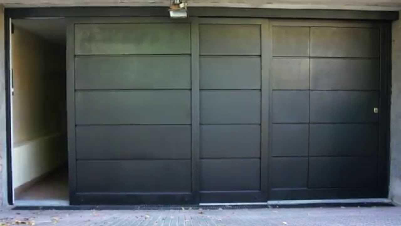 Portones riente original corredizo tres hojas garaje en 2019 garage doors doors y garage Portones de garaje