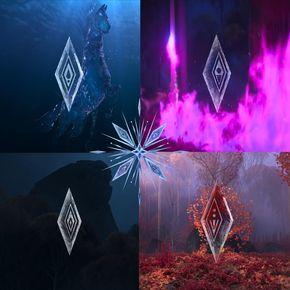 The four elements on Frozen II by diebitch2947 on DeviantArt
