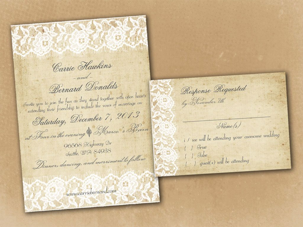 create wedding invitations costco printable - Costco Wedding Invitations