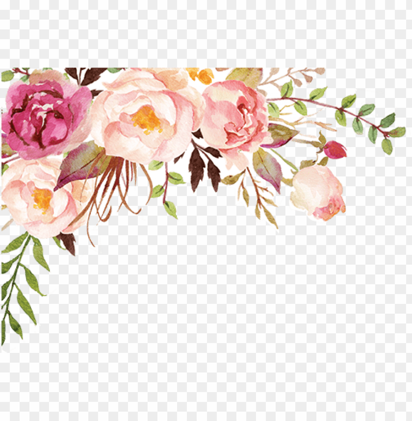 Transparent Watercolor Flowers Png Image With Transparent Background Png Free Png Images Flower Png Images Free Watercolor Flowers Transparent Flowers