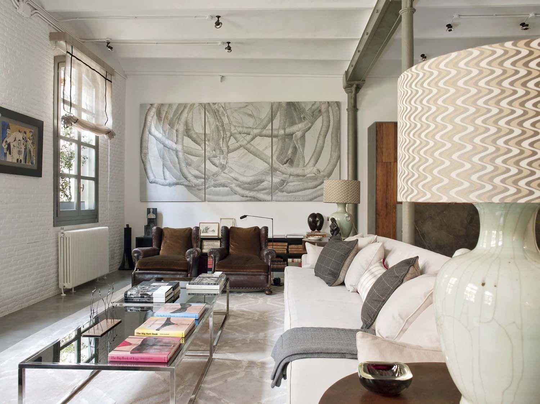 Loft Industrial Con Aires Modernos Industrial Pinterest  ~ Decoracion Modernista Interiores