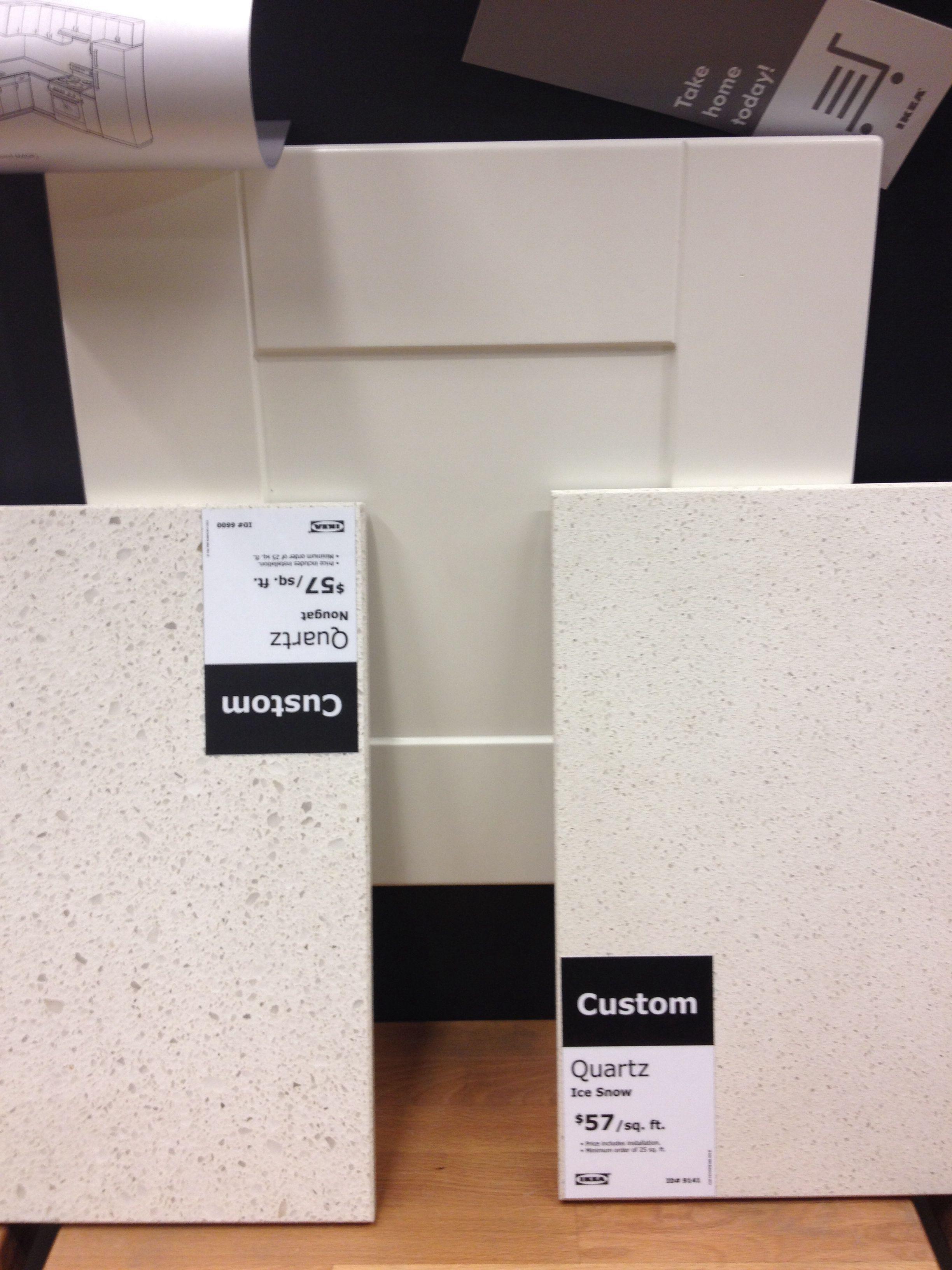 Ikea Adel With Nougat And Ice Snow Quartz House Pinterest