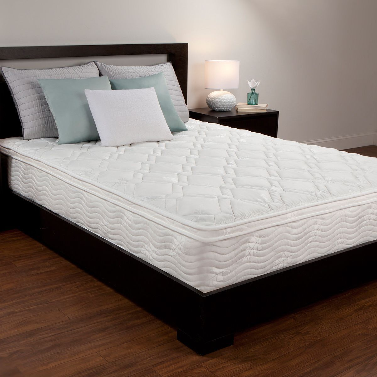 Product Reviews Comfort Memories 10 Inch Full Size Foam And Spring Hybrid Mattress Queen Mattress Size Mattress Bedroom Furniture Stores