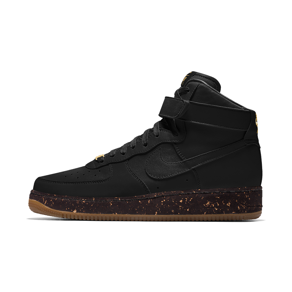 info for 4b9e9 92e19 Nike Air Force 1 High Premium iD Men s Shoe Size 11.5 (Black)