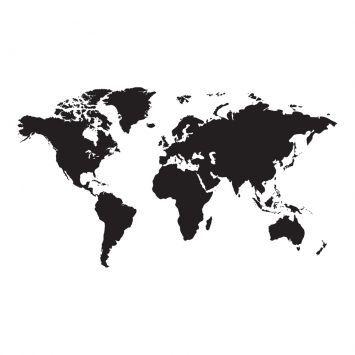 Mapa Mundi  imagens e frases  Pinterest  Wallpaper Tattoo and Room