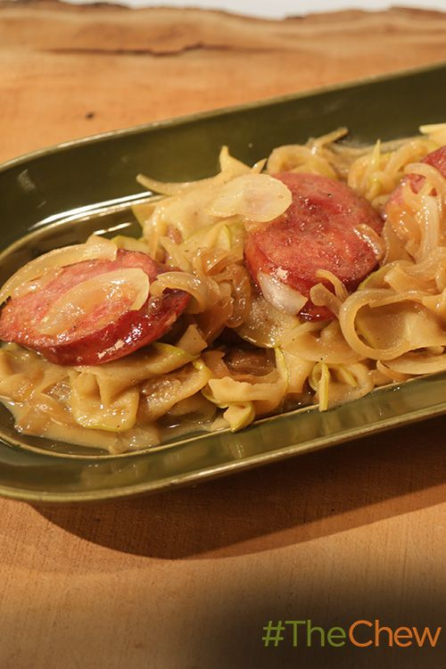 Whip up this delicious Kielbasa with Apples & Onions with ...
