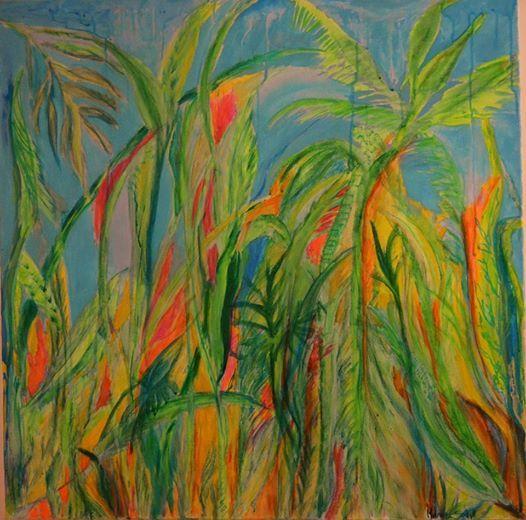 ReminiScencias - Artist: Mariana Soria - Measures; 90 x 90 cm - artistamsoria@gmail.com Mixed Media