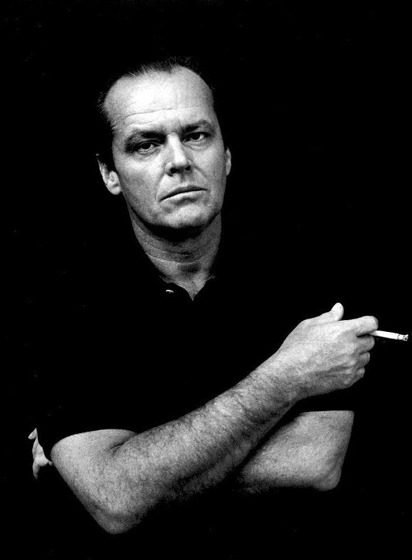 Jack Nicholson 4 American Actor Poster Black White Scary Picture Film Star Clown