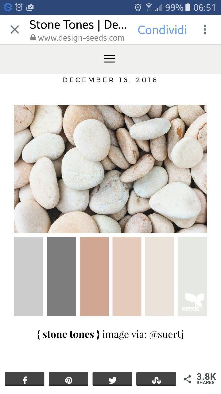 Pebbles Brown And Cream Beige Color Scheme Calm Colors Color
