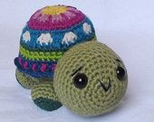 My amigurumi pattern Cindy Turtle The Ami has been featured in august finds 5 by Ksusha from BestWeddingBouquets